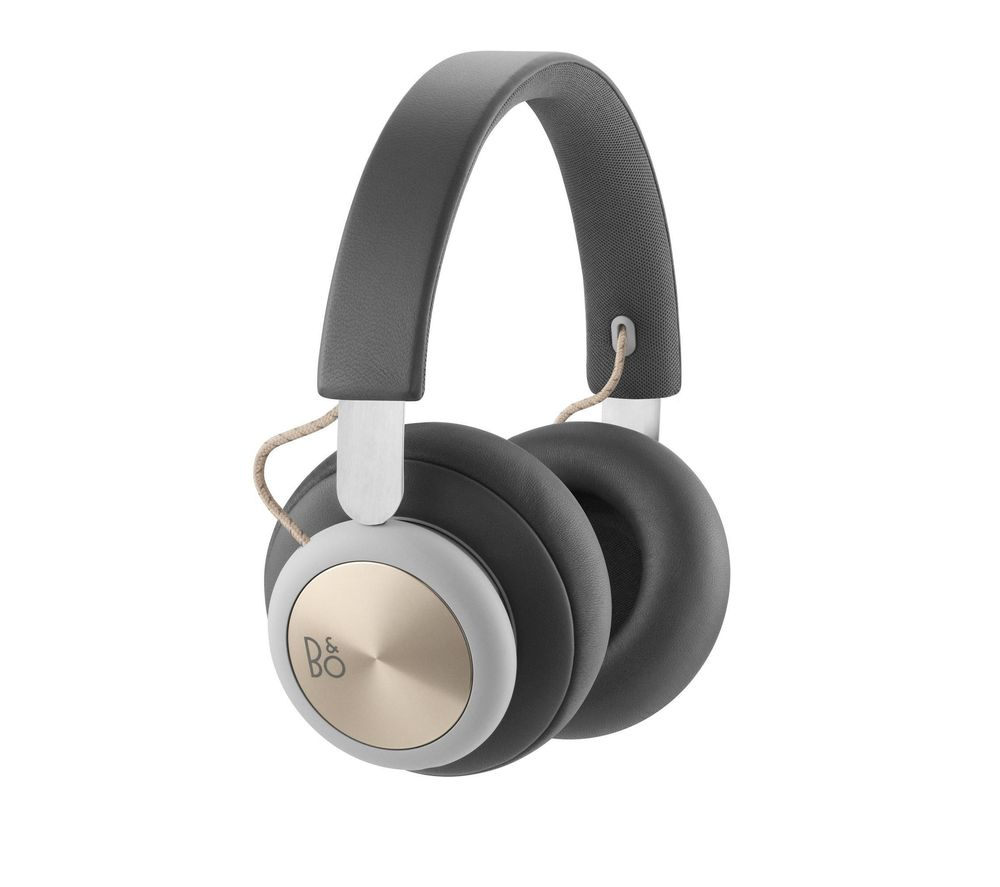 BANG & OLUFSEN H4 Wireless Bluetooth Headphones - Grey
