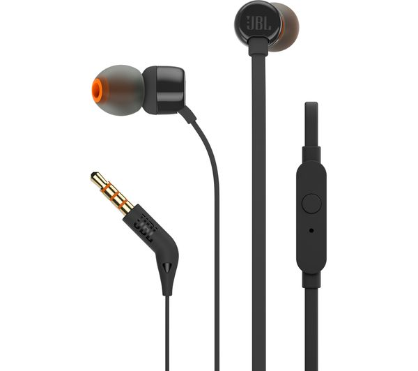 f20570f978f Buy JBL T110 Headphones - Black | Free Delivery | Currys