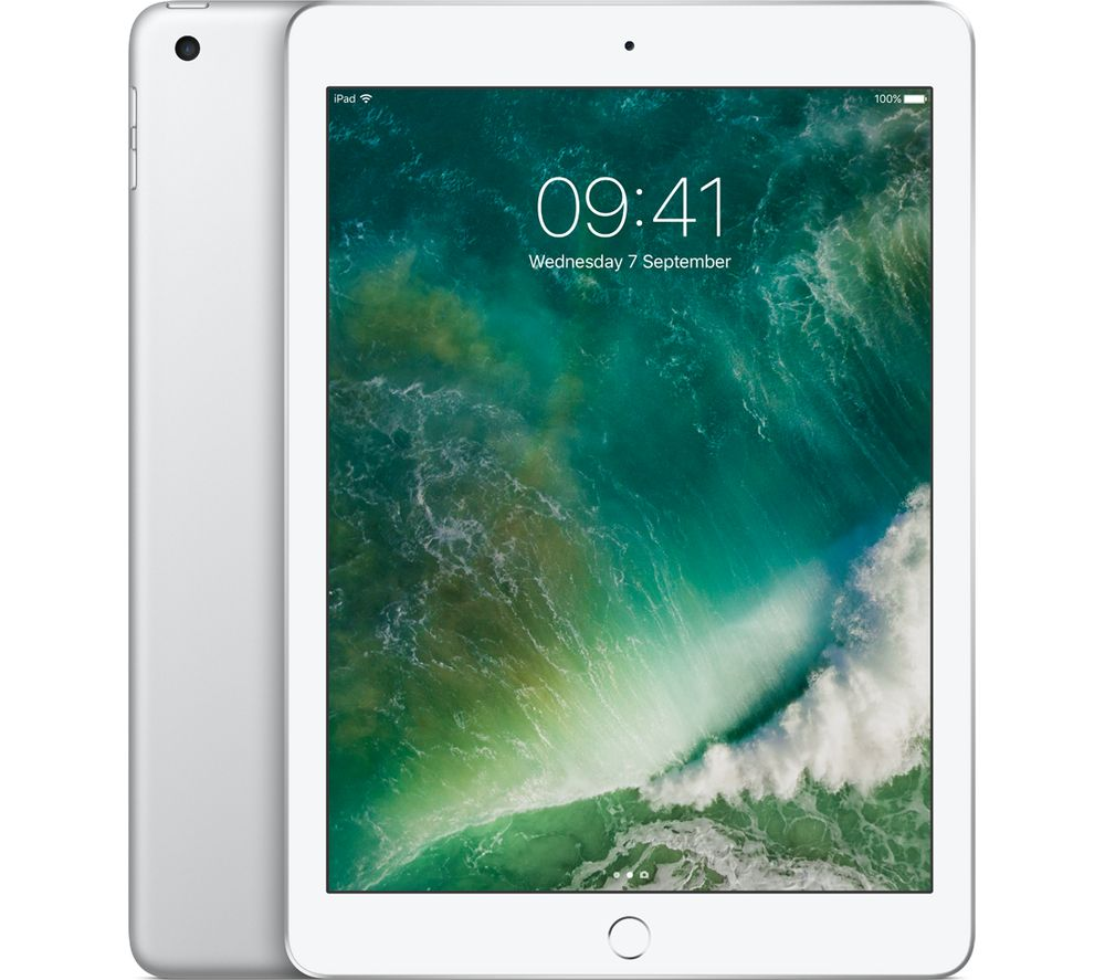 "APPLE 9.7"" iPad Cellular - 32 GB, Silver"
