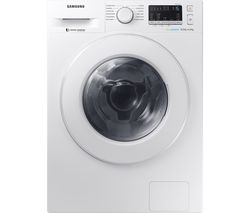 SAMSUNG ecobubble WD80M4453IW/EU 8 kg Washer Dryer - White