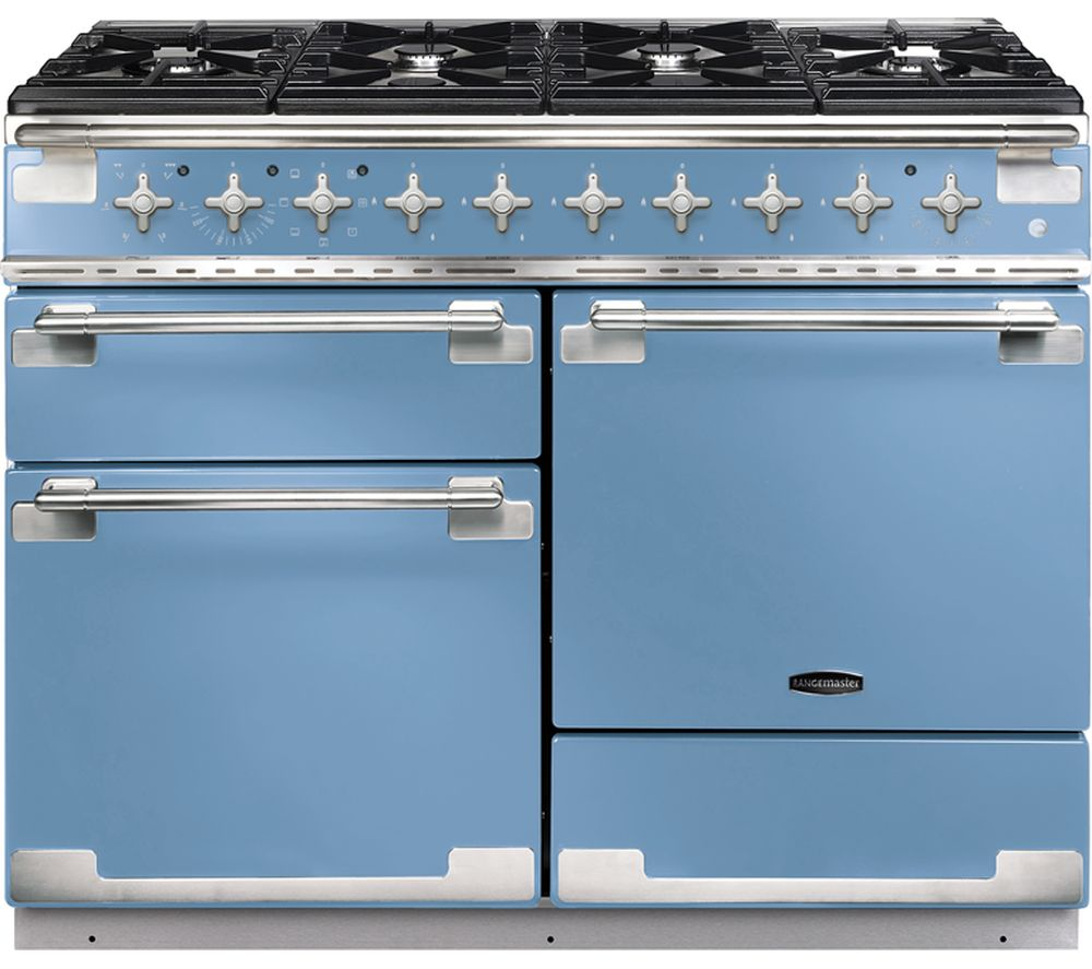 RANGEMASTER Elise 110 Dual Fuel Range Cooker - China Blue
