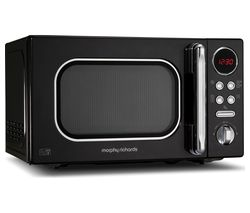 Accents 511500 Compact Solo Microwave - Black