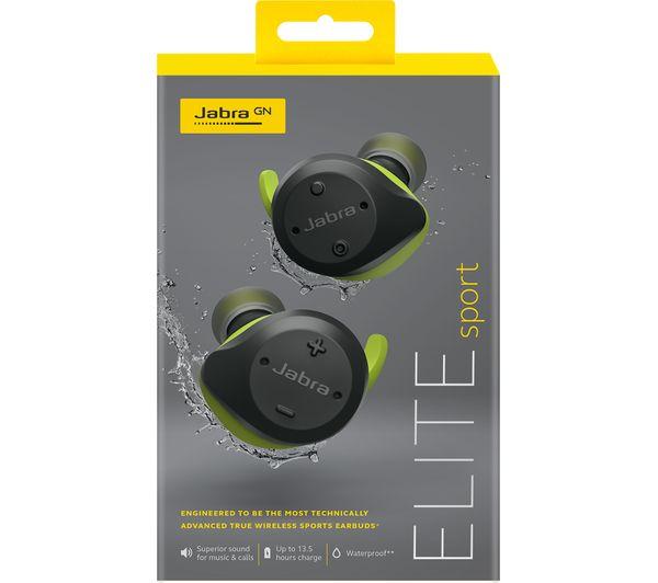 huge selection of 2f536 15227 JABRA Elite Sport Wireless Bluetooth Headphones - Grey & Green