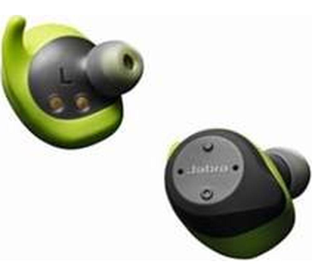 JABRA Elite Sport Wireless Bluetooth Headphones - Grey & Green