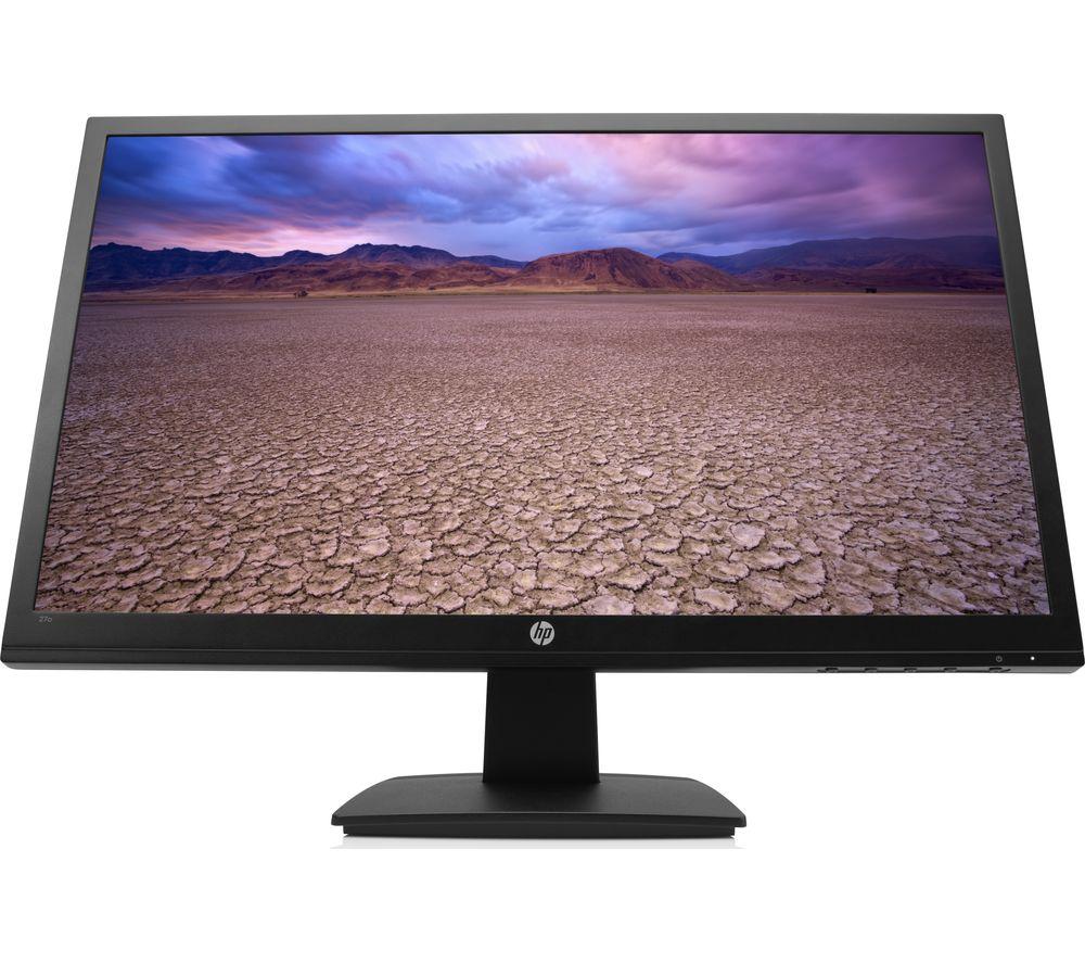 """HP 27o Full HD 27"""" LED Monitor - Black"""