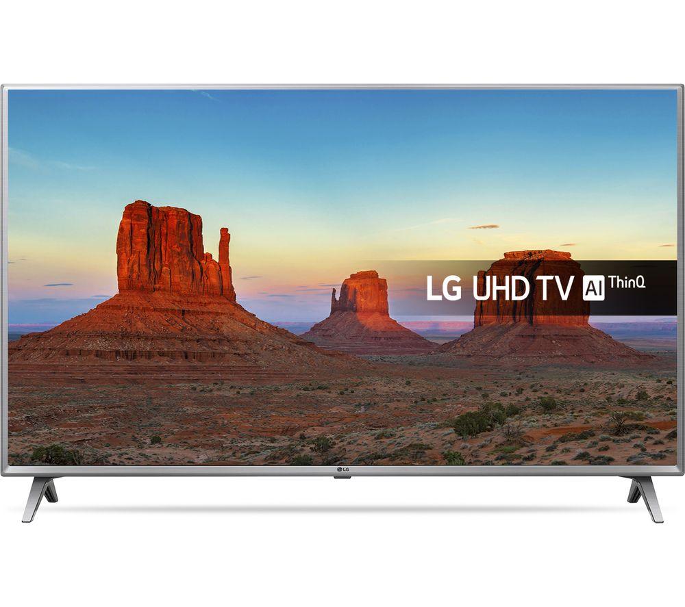 """LG 55UK6500PLA 55"""" Smart 4K Ultra HD HDR LED TV"""