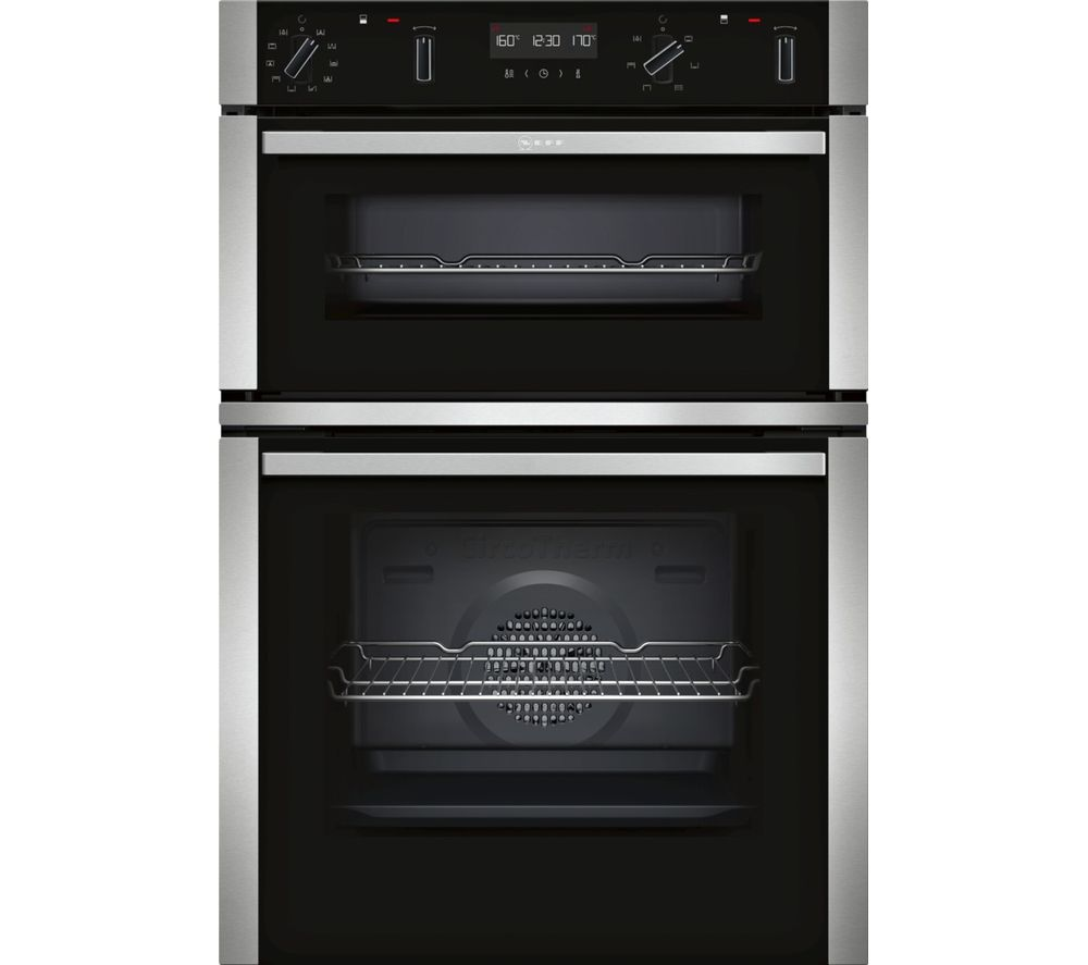 NEFF N50 U2ACM7HN0B Electric Double Oven - Stainless Steel