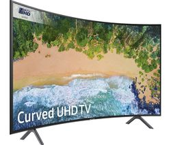 "SAMSUNG UE49NU7300 49"" Smart 4K Ultra HD HDR Curved LED TV"