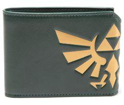 NINTENDO Zelda Hyrule Crest Fold Over Wallet - Green