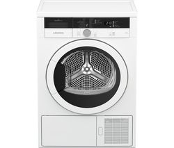 GRUNDIG GTN29240GW 9 kg Heat Pump Tumble Dryer - White