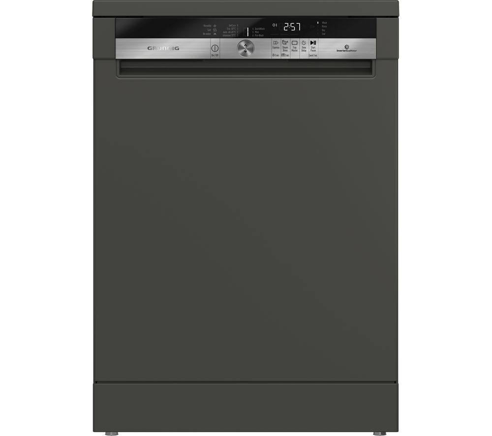 GRUNDIG GNF41620G Full-size Dishwasher - Graphite