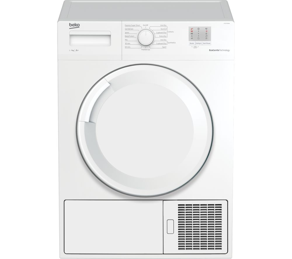BEKO DTGP7000W 7 kg Heat Pump Tumble Dryer - White
