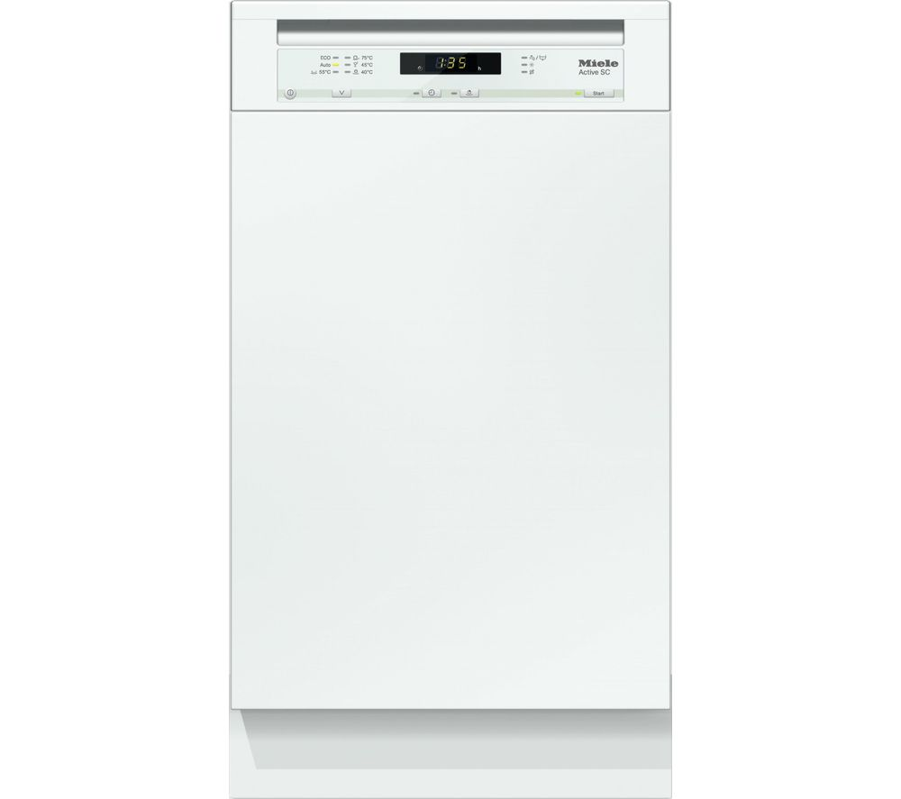 MIELE G4620SCi Slimline Semi-Integrated Dishwasher - White
