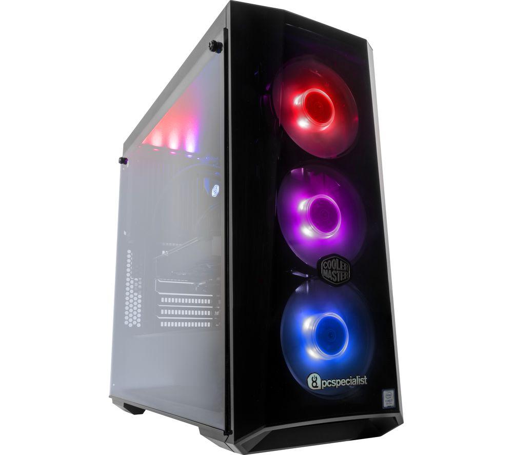 PC SPECIALIST Vortex Colossus Pro II Intel® Core™ i7 RTX 2080 Gaming PC - 2 TB HDD & 500 GB SSD