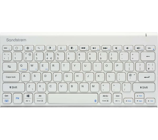 Image of SANDSTROM SKBWHBT19 Wireless Keyboard