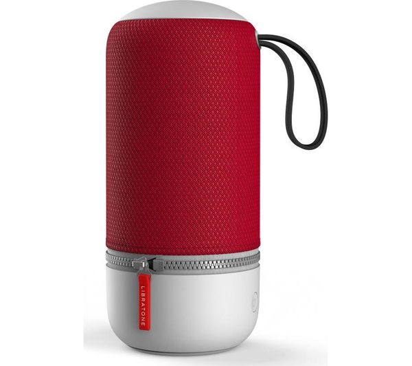 Image of LIBRATONE ZIPP MINI 2 Portable Wireless Voice Controlled Speaker - Red