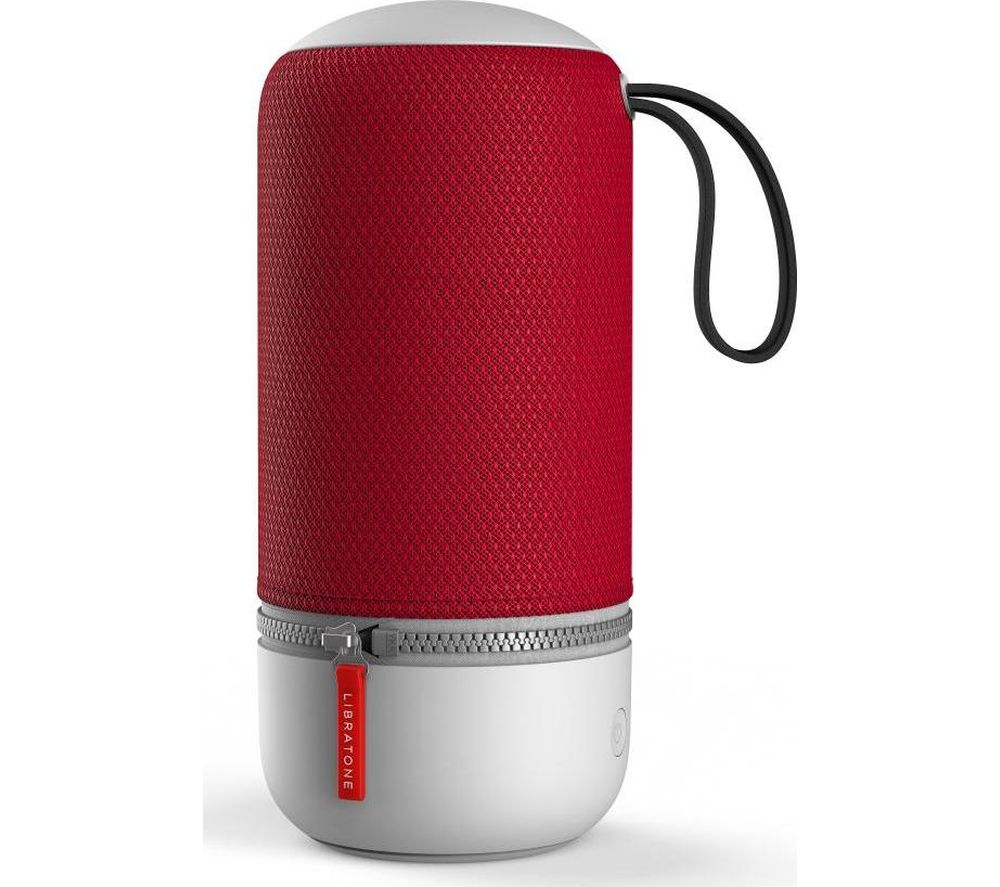 Image of LIBRATONE ZIPP MINI 2 Portable Wireless Voice Controlled Speaker - Red, Red