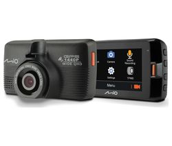 MIO MiVue 751 Quad HD Dash Cam - Black