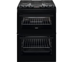 ZCG63260BE 60 cm Gas Cooker - Black