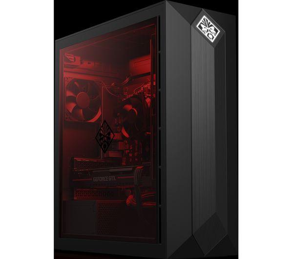 HP OMEN 875-0033na Intel® Core™ i7 GTX 1070 Gaming PC - 2 TB HDD & 256 GB  SSD