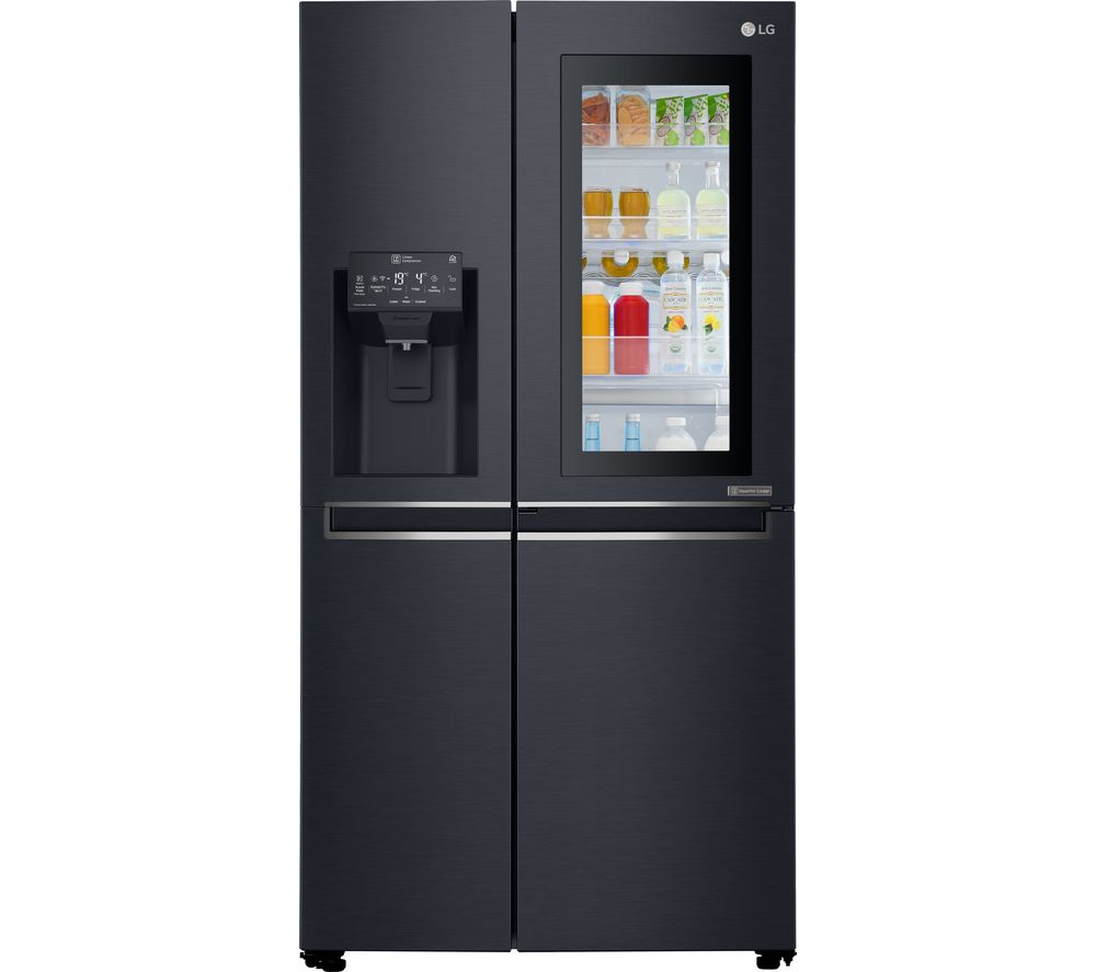 LG GSX961MCVZ American-Style Smart Fridge Freezer - Black