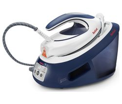 TEFAL Express Anti-Scale SV8053 Steam Generator Iron - Blue and White Best Price, Cheapest Prices