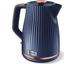 Loft KO251440 Jug Kettle - Blue & Rose Gold