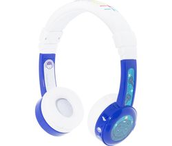 ONANDOFF BuddyPhone InFlight Kids Headphones - Blue
