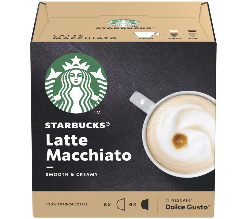 Dolce Gusto Latte Macchiato Coffee Pods - Pack of 12