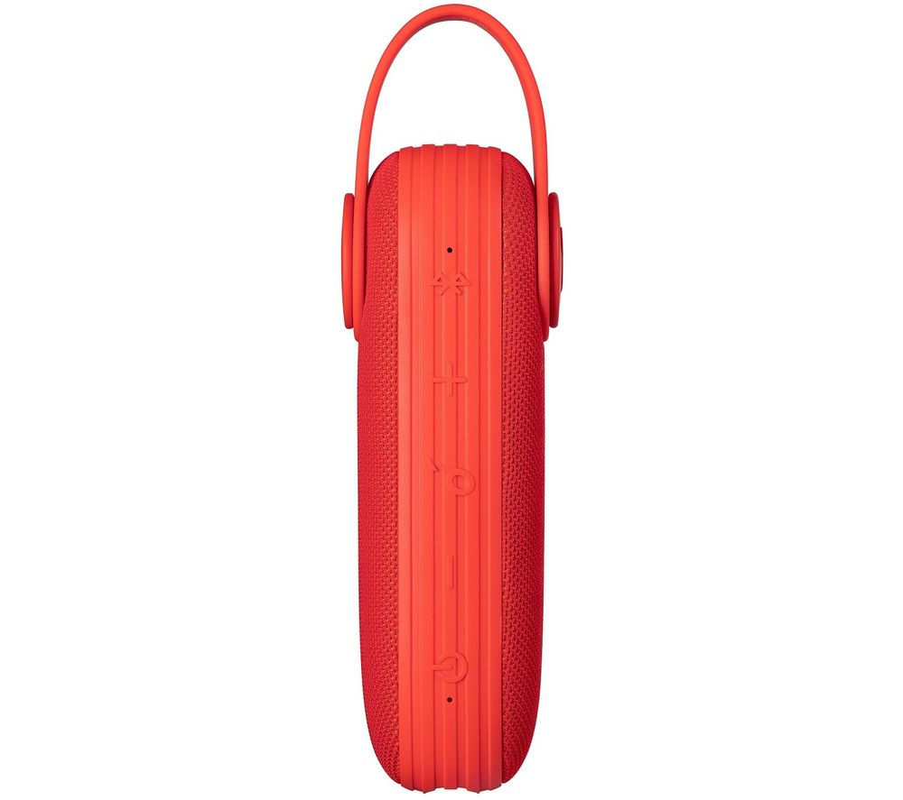 Image of Icon Portable Bluetooth Speaker - Red, Red