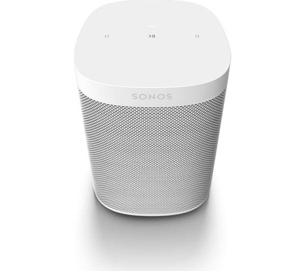 Image of SONOS One SL Wireless Multi-room Speaker - White