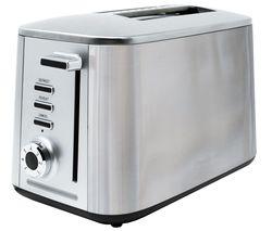 Image of DREW & COLE Rapid 2-Slice Toaster - Chrome