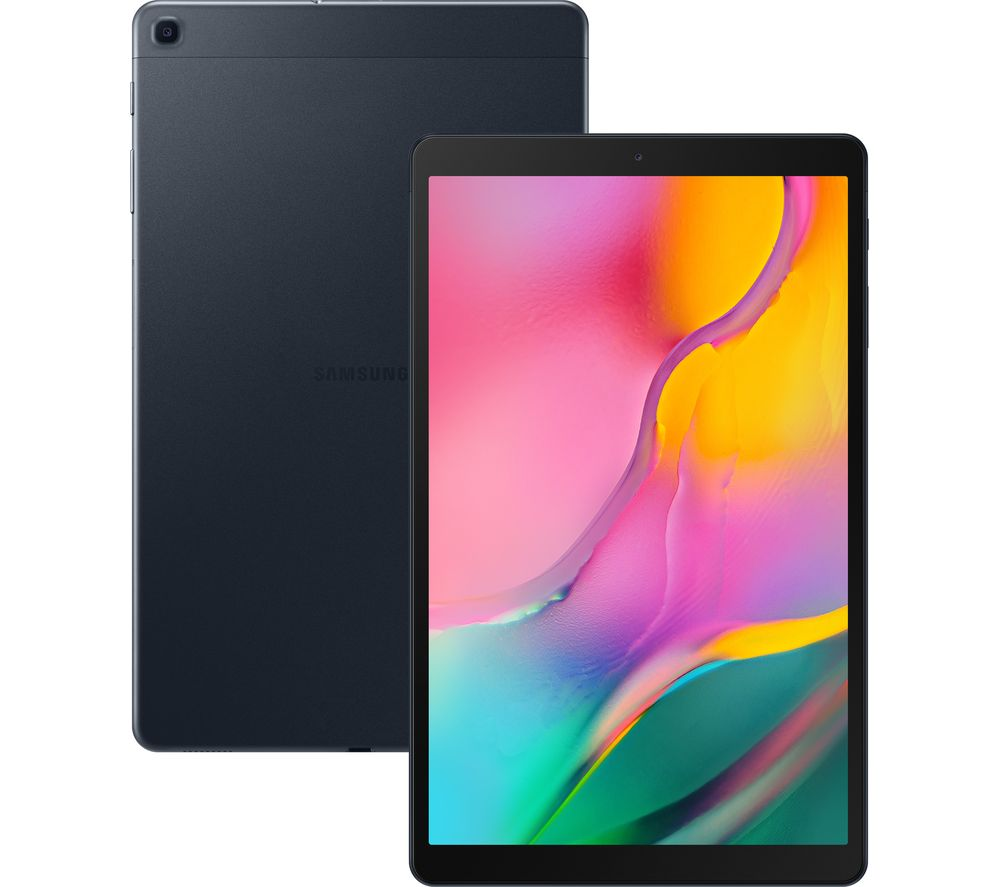 "SAMSUNG Galaxy Tab A 10.1"" 4G Tablet (2019) - 32 GB, Black"