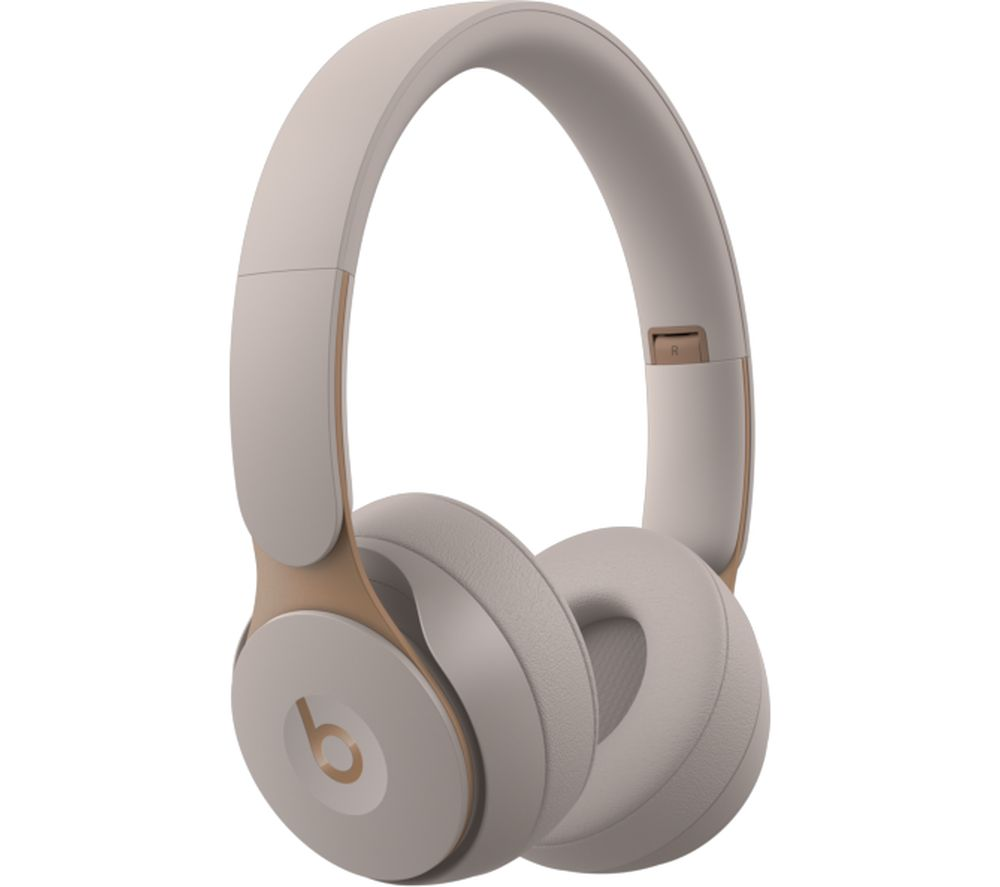 BEATS Solo Pro Wireless Bluetooth Noise-Cancelling Headphones - Grey, Grey