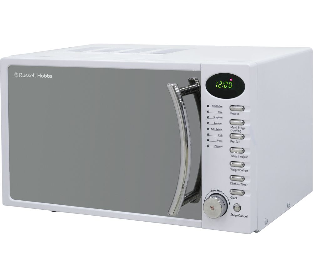 Russell Hobbs Heritage RHM1714WC 17 Litre White Digital Microwave