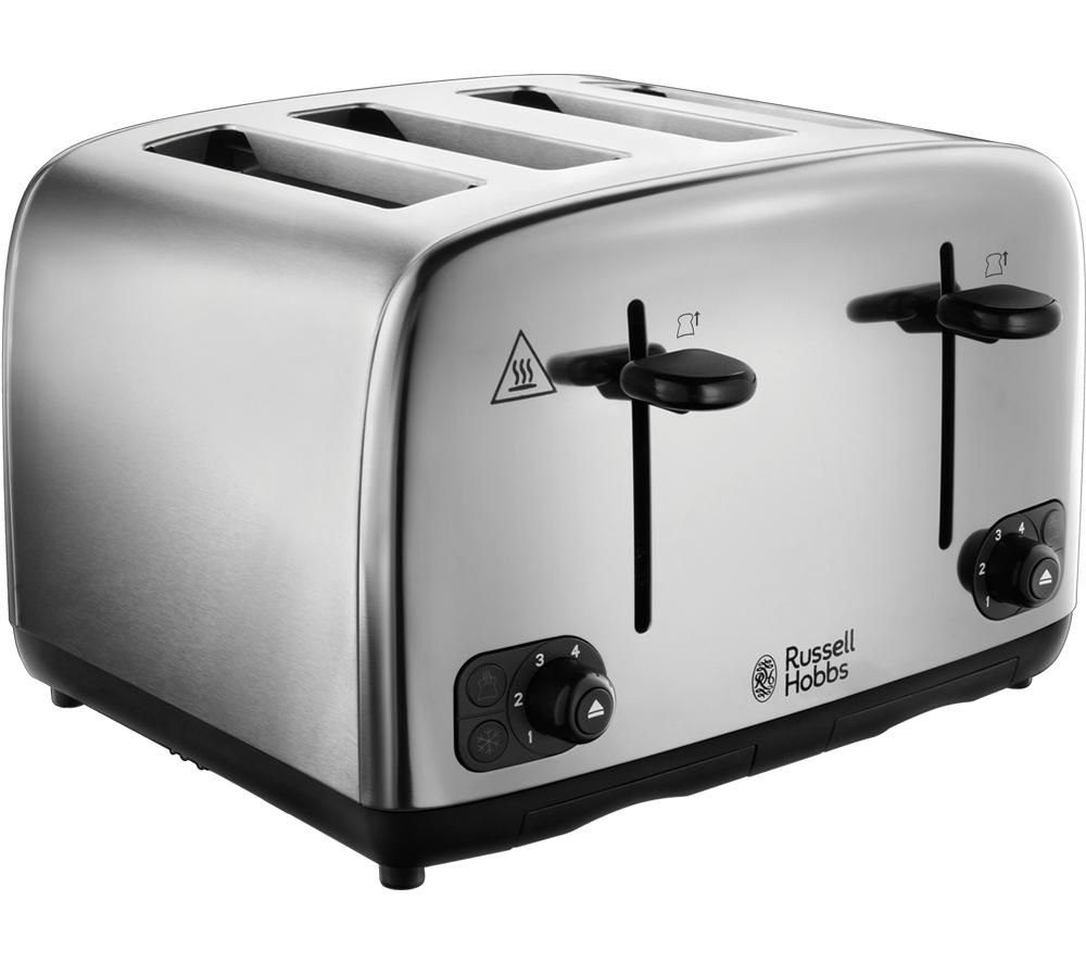 Adventure 24090 4-Slice Toaster - Stainless Steel, Stainless Steel