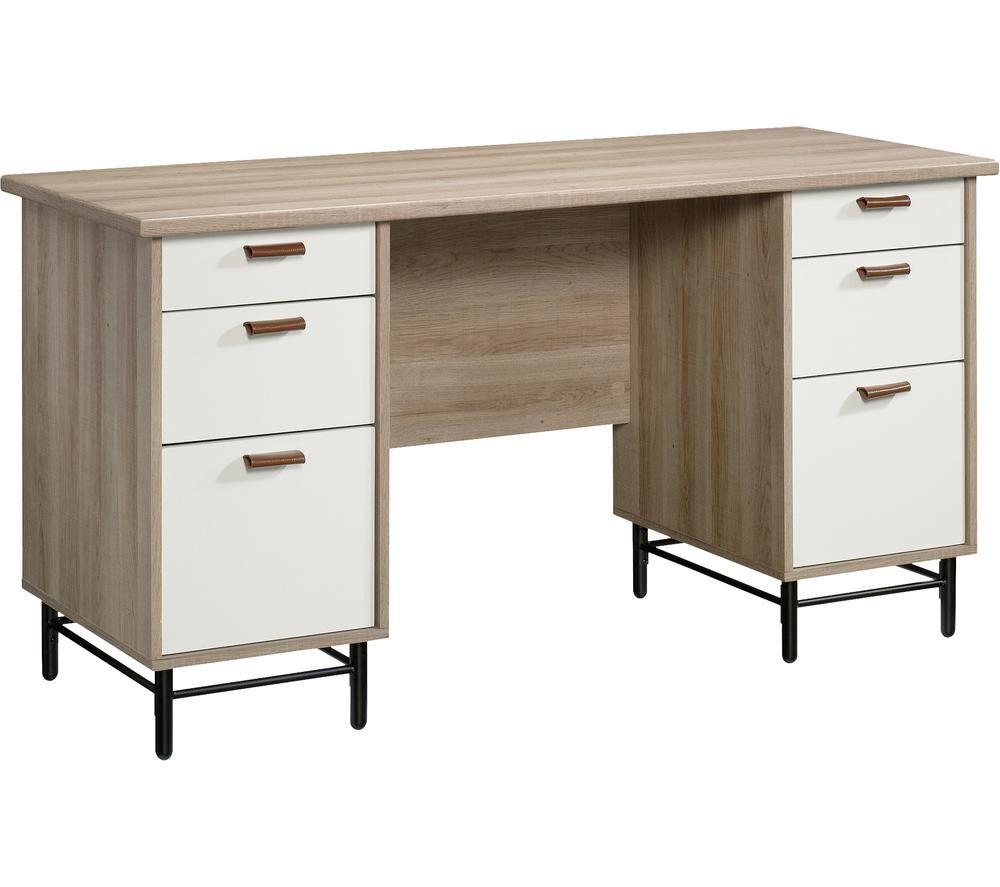 Image of Avon Desk - Sky Oak