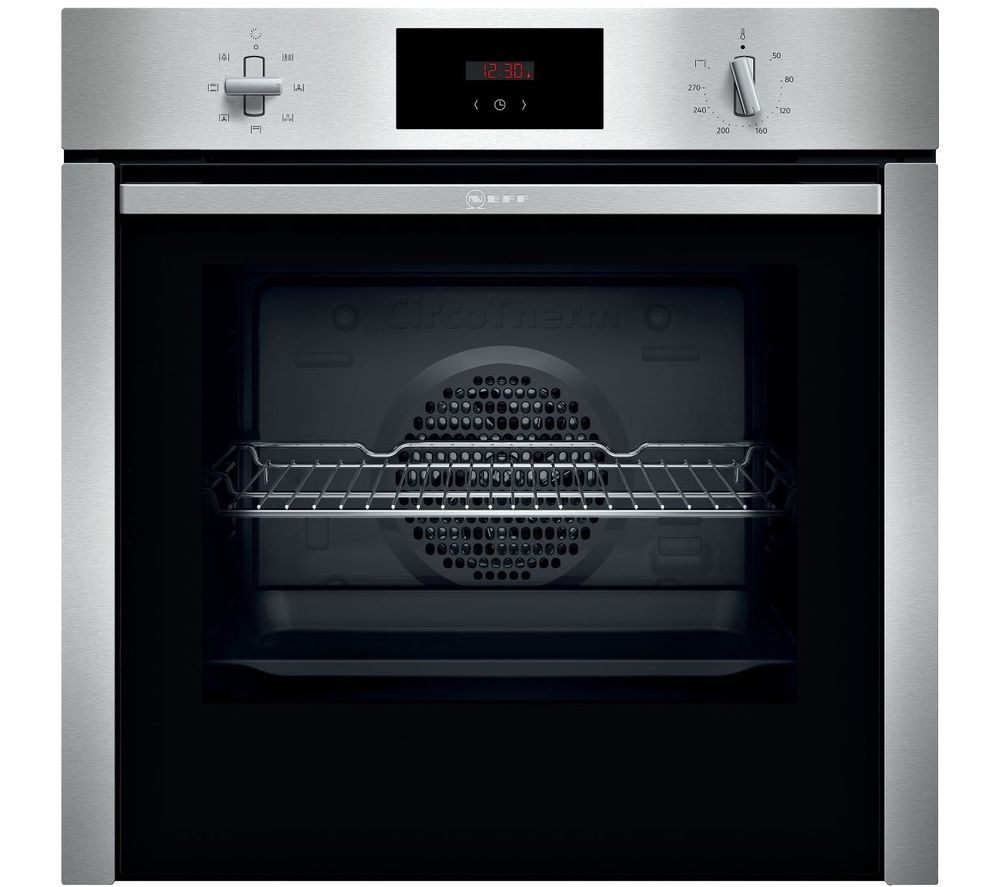 NEFF N30 B3CCC0AN0B Slide&Hide Electric Oven - Stainless Steel