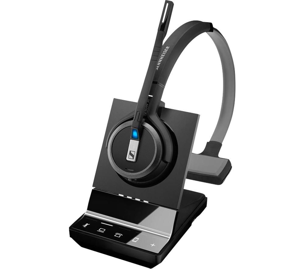 Image of SENNHEISER Impact SDW 5035 Wireless Headset - Black, Black