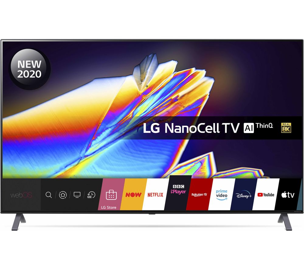 "LG 65NANO956NA 65"" Smart 8K Ultra HD HDR LED TV with Google Assistant & Amazon Alexa"