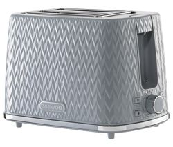 Argyle Collection SDA1821 2-Slice Toaster - Grey
