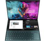 £1999, ASUS ZenBook Pro Duo UX581LV 15.6inch Laptop - Intel® Core™ i7, 512 GB SSD, Blue, Windows 10, Intel® Core™ i7-10750H Processor, Memory: 16GB RAM / 32GB Intel® Optane™, Storage: 512GB SSD, Graphics: NVIDIA GeForce RTX 2060 6GB,