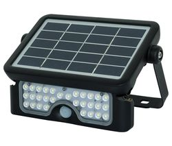 Solar Guardian LEXSF6B40 Floodlight - Black