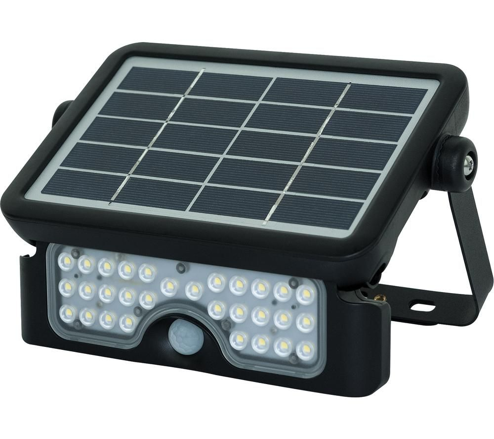 LUCECO Solar Guardian LEXSF6B40 Floodlight - Black