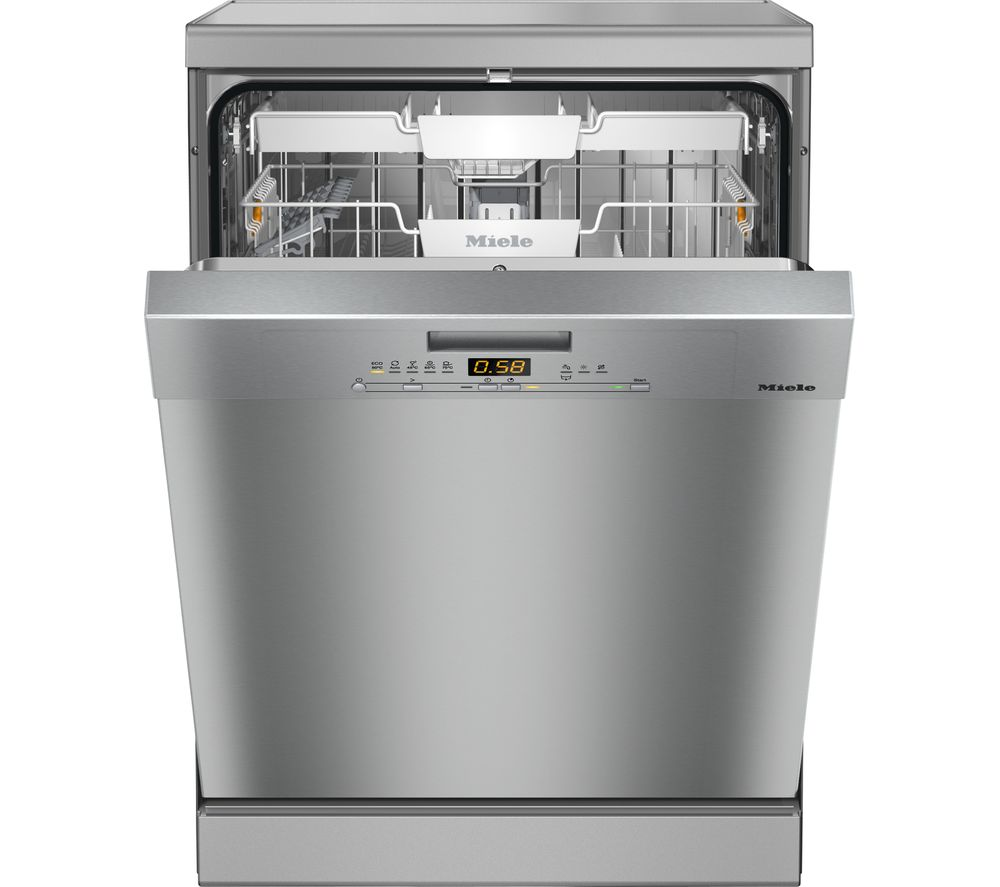 MIELE G5210SC Full-size Dishwasher – Silver, Silver