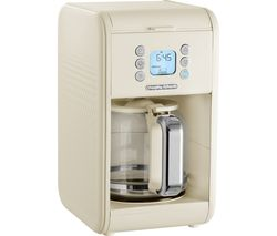 Image of MORPHY RICHARDS 163006 Verve Pour Over Filter Coffee Machine - Cream