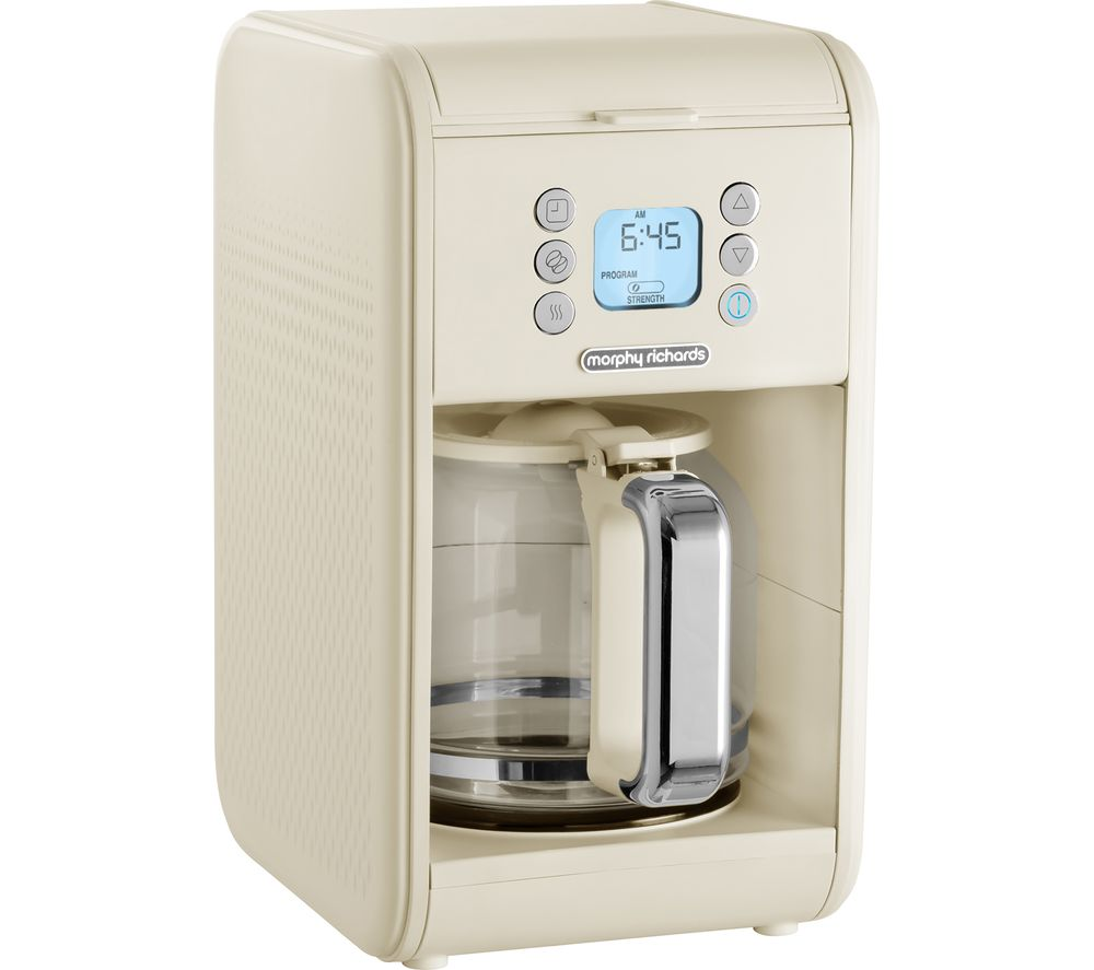 MORPHY RICHARDS 163006 Verve Pour Over Filter Coffee Machine - Cream
