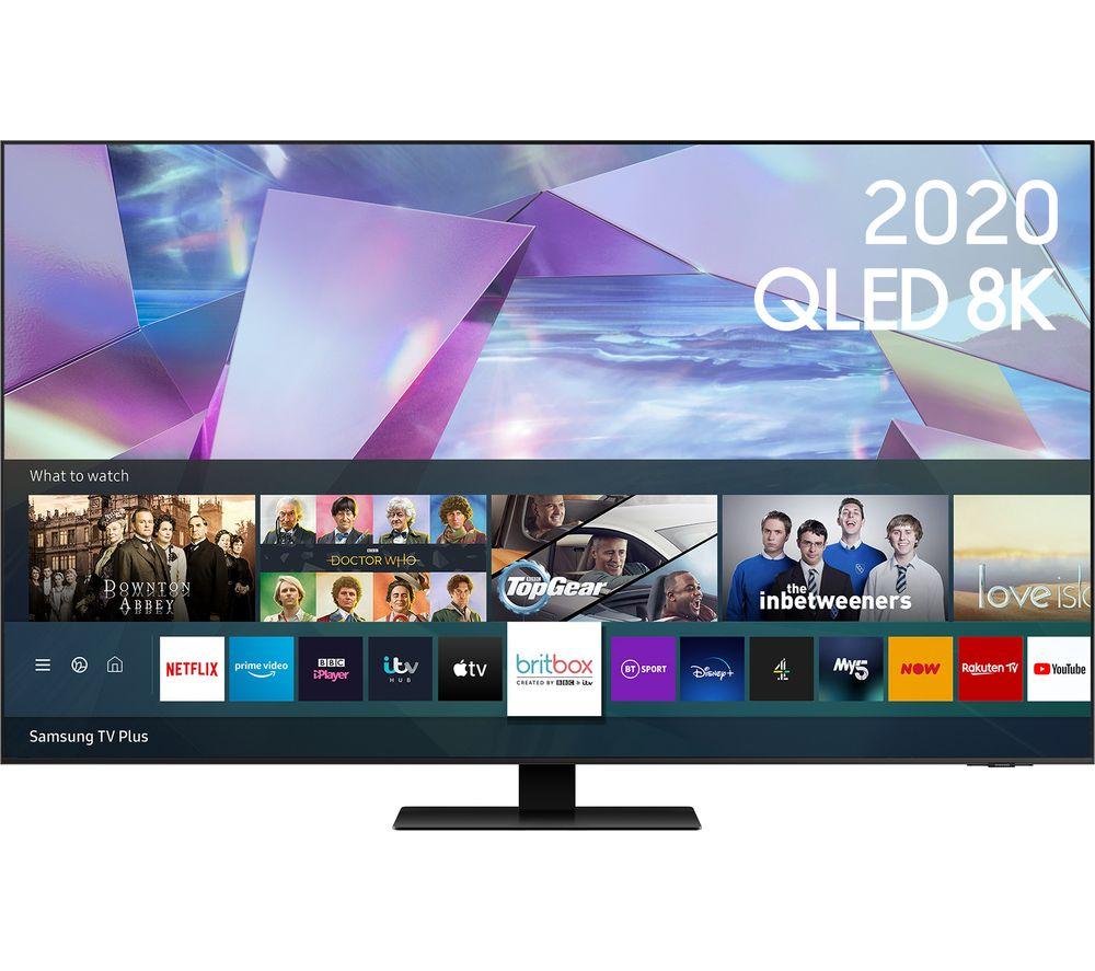 "SAMSUNG QE55Q700TATXXU 55"" Smart 8K HDR QLED TV with Bixby, Alexa & Google Assistant"