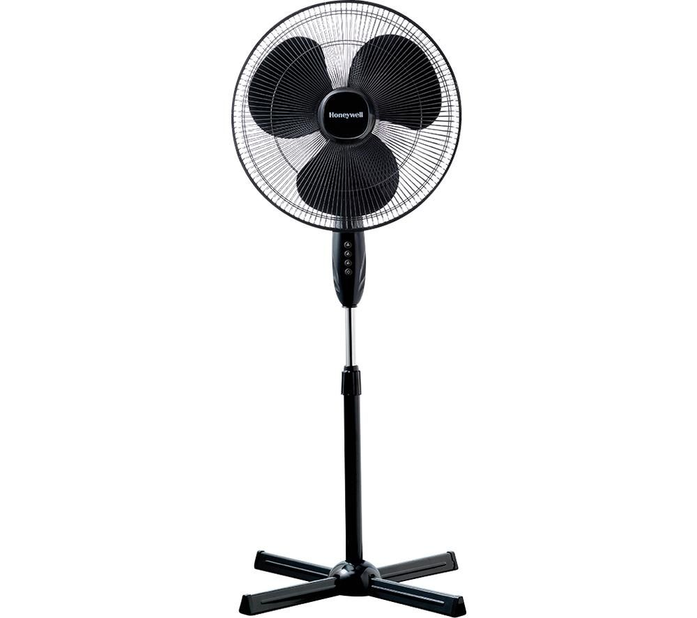 HONEYWELL Comfort Control HSF1630E1 Pedestal Fan - Black