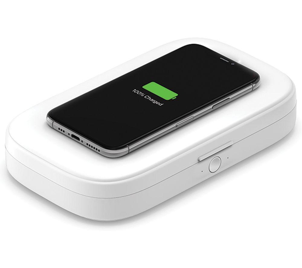 BELKIN WIZ011btWH UV Sanitiser & 10 W Wireless Charger